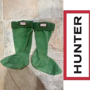 Hunter Original Cable Knitted Cuff Tall Boot Socks